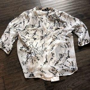 Flirty summer blouse
